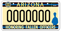 Families of Fallen Police Officers Specialty Plate – New Design